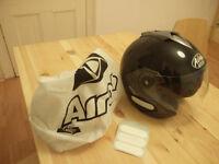 Motorbike Helmet Airoh Avenue Nero Sport (Size S). New