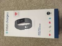 FitBit Charge Two - Black and Stainless Steel. Brand new and in packaging.