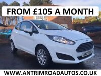 2013 FORD FIESTA 1.25 STYLE ** NEW MODEL ** ONE LADY OWNER ** FINANCE AVAILABLE WITH NO DEPOSIT **