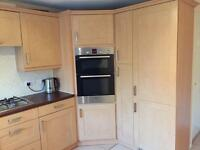 Kitchen including double oven and hob £450