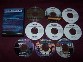 Emulator X3 ( E-MU , EMU ) Professional Software Sampler / Synthesizer + Extras.