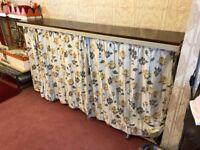 Retro pullout single bed wall unit
