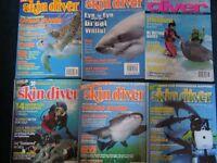Small bundle Dive Magazines.