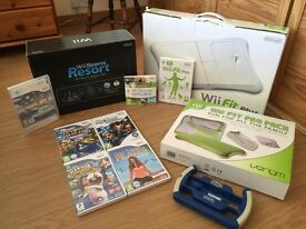 Nintendo Wii console and Sports Resort Edition & more!