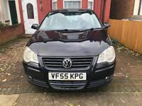 Volkswagen Polo S. 1.4 Petrol. 2006/55, Low Miles, Fresh MOT, SUPERB. HPi Clear!! Drive away today.