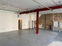 Unique creative studio in Hackney Central warehouse - Approx 2000 sq ft
