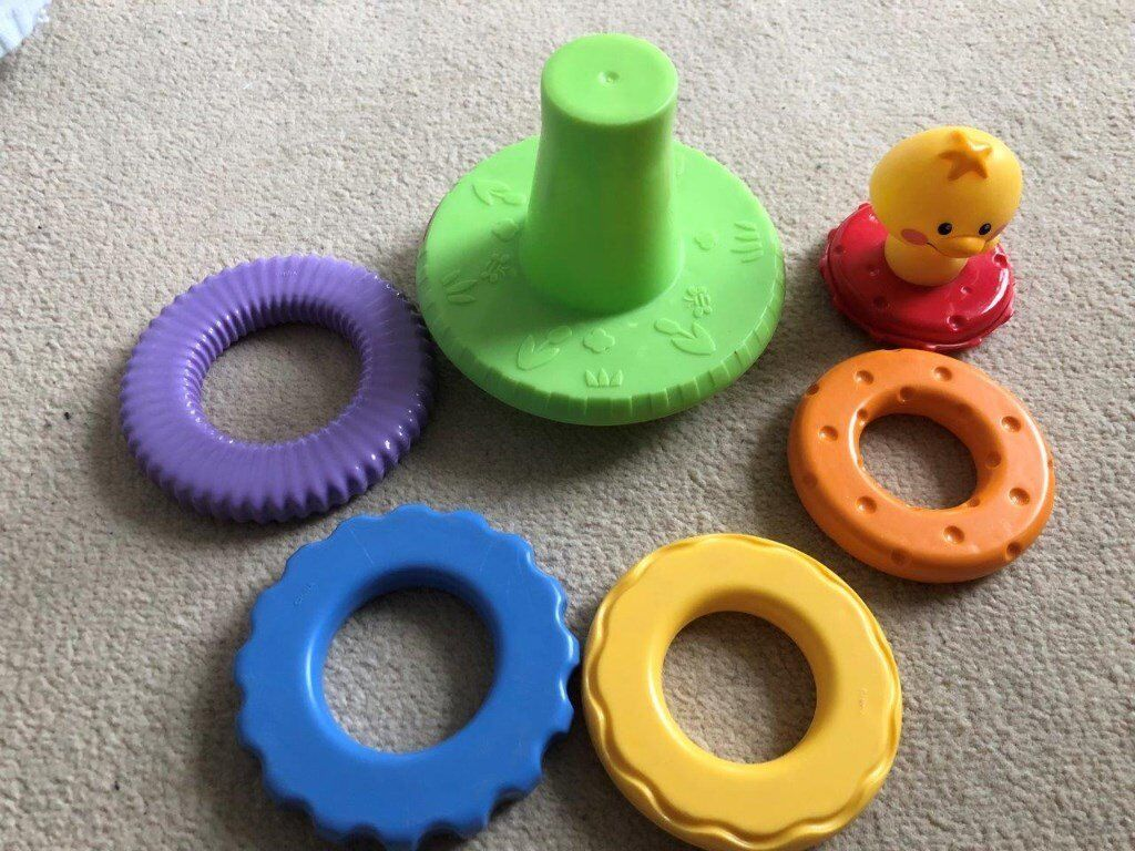 Fisher Price rattle stacker