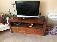 Teak TV Stand with drawers from Singapore