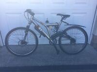 Man / teenage boy mountain bike