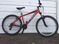 Specialized hardrock sport mountain bike medium