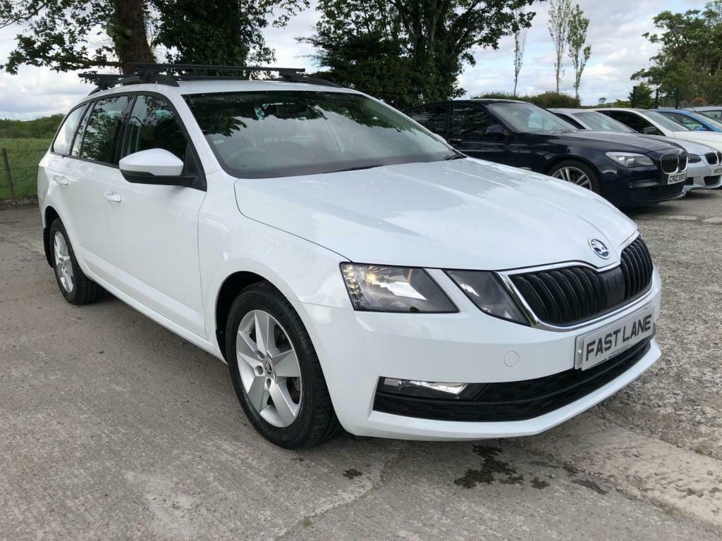 SKODA OCTAVIA 1 6 SE TDI 5d 114 BHP (white) 2018 | in Ballynahinch, County  Down | Gumtree