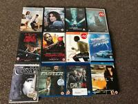 Set of 14 Movies / Films on DVD and Blu-Ray