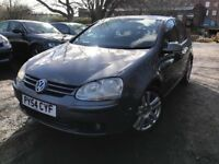 54 plate - Vw golf - GT Tdi - one year mot - Cambelt done- 6 speed - 3 former keepers