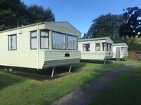 Static homes for rent 2/3 bedroom in the newton abbot