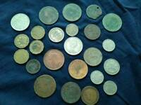 Old coins and other items