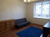 Flat for Rent Glasgow Southside £400pcm. Grnd floor, 1 bed, livingroom, bathroom, kitchen, garden