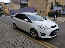 2012 Ford Grand C-Max MPV 2.0 TDCI TITANIUM AUTOMATIC 5 doors 7 seats