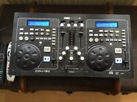 Cd mixing console gem sounds American Gemini ideal for beginners