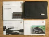 Audi A3 Owners Manual and Wallet