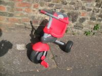 Toddlers red trike