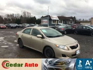 2009 Toyota Corolla Managers Special