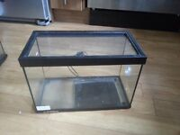 Glass Fish Tank 41 x 22 x 28cm