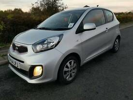 2014 Kia Picanto vr7 1.0 low insurance free road tax