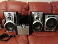 Panasonic CD/USB/AUX Stereo System