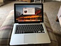 MacBook Pro 13 inch mid 2012 processor