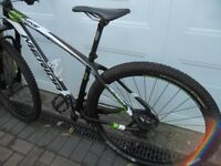 merida big nine 6000 carbon 29er hardtail medium mountain bike