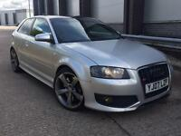AUDI S3 TFSI QUATTRO 4WD 2.0 TURBO 2007 FULL HEATED LEATHER RE-MAPPED SOUNDS AWESOME!