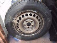 "New VW Transporter Spare Wheel & Tyre 16"""