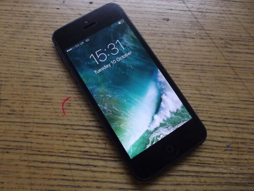 APPLE IPHONE SLATE BLACK 5 32GB UNLOCKED