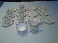 """Royal Grafton """"Evesham"""" fine bone china tea set."""