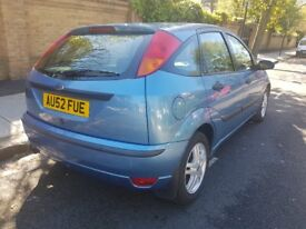 Ford focus 1.8 zetic blue full service history.