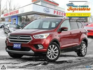 2017 Ford Escape Titanium *** NAV, Sunroof, 4x4 ***