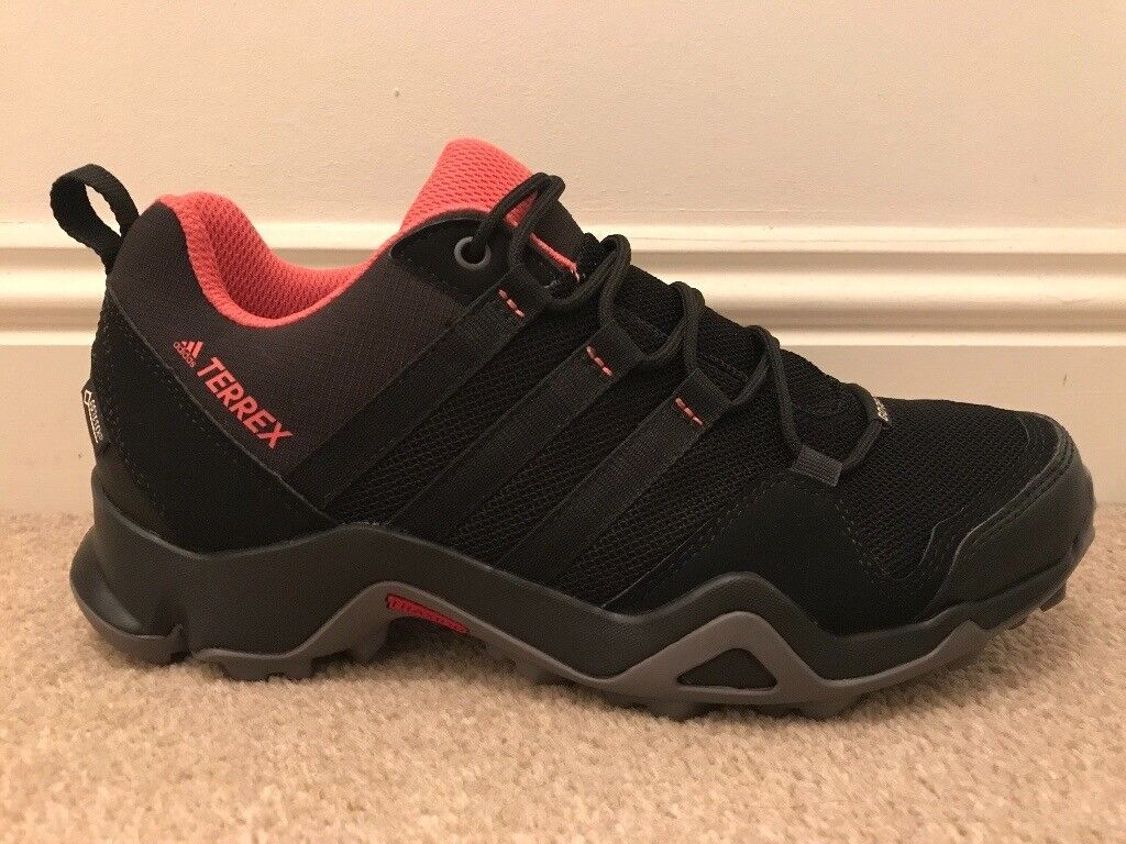 22eb08d0f Women s Adidas Terrex AX2R black and pink hiking shoes - new UK size 5.5