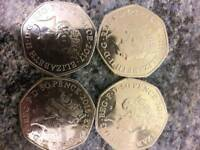 50 p coins! Collection.! Bargain