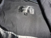 black next jacket mens size large