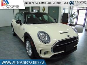 2017 MINI Cooper Clubman TURBO S*ALL 4, CUIR, TOIT PANORAM