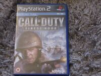 ps2 call of duty finist hour