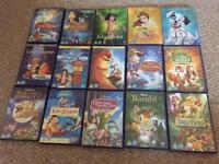 Kids DVDS inc Disney Classics