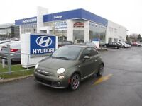 2012 Fiat 500 SPORT, MAN, AIR, POWER GROUP, SUNROOF....
