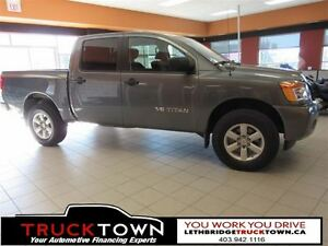 2014 Nissan Titan LOW KILOMETERS-FRESH TRADE