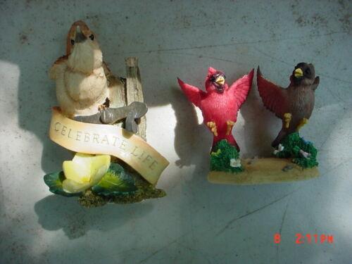 Pair of Fitz Bird Figurines
