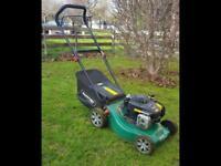 Qualcast petrol lawn mover