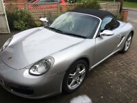 2006 PORSCHE BOXSTER, 18 INCH ALLOYS FULL MOTD, FS HISTORY AND LOTS OF PAPERWORK AND 3 KEYS