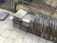 "Approximately 600-off Welsh roof slates 14"" x 8"" 30p each or £150 for the lot"