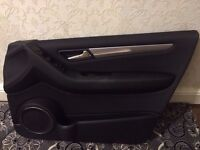 MERCEDES A CLASS 2005-2011 DOOR CARDS FRONT AND REAR 5 DOOR WITH ELECTRIC SWITCH