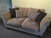 Canterbury 2 Seater sofa and Footstall with Storage
